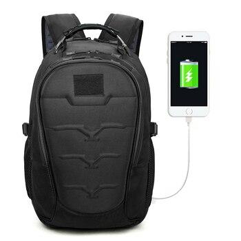 62ac51adff4b Тактические Военные рюкзаки 40л Molle высокой емкости usb зарядка сумка  Мути-функция рюкзак для альпиниста Выживание сумка штурмовая упаковка