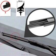 Щетка стеклоочистителя для лобового стекла автомобиля вставка резиновая полоса(заправка) для SKODA OCTAVIA Октавия Рапид A5 A7 FABIA автомобильные аксессуары