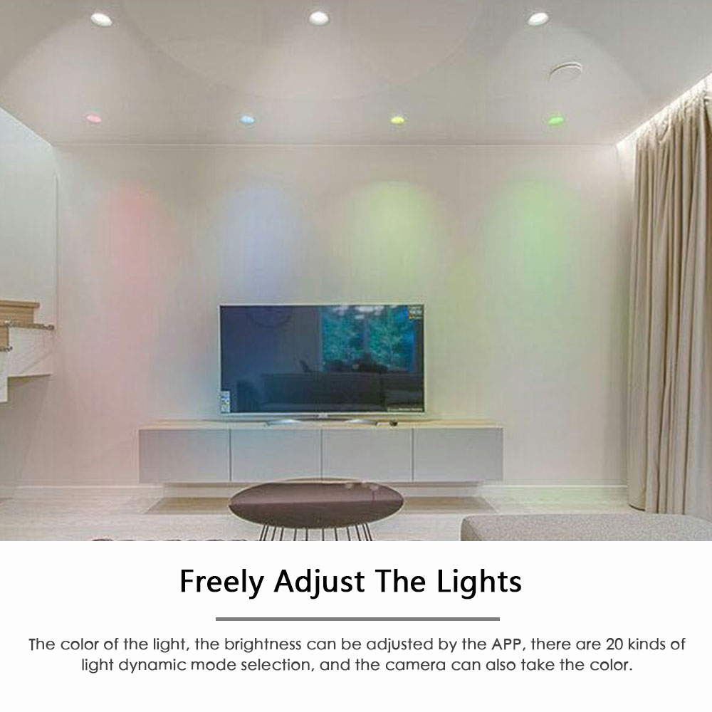 Image 5 - Smart Bulb Downlight Bluetooth LED Magic RGBW Home Lighting Lamp Color Change Dimmable 100 264VAC Apply To IOS /Android-in Smart Remote Control from Consumer Electronics