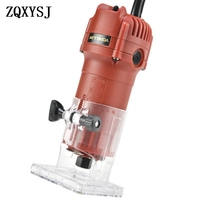 Electric Wood Laminator Router Trimming Machine Woodworking Tool 220v 800w 30000rpm Electric Hand Trimmer Accurate For Wood Tool