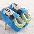 Lindo Bebé de la Historieta Impresa Niños de Alta Zapatos Casuales Niño Antideslizantes Caminar Zapatilla de deporte del Niño regalo