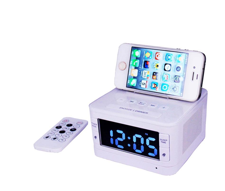 Bluetooth Lautsprecher Mini Digital Wecker Mp3 Intelligentes Audio Subwoofer Audio Docks & Mini Speakers