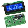 IIC/I2C/TWI 2004 Серийный Голубой Подсветкой ЖК-Модуль для Arduino UNO R3 MEGA2560 20X4 2004