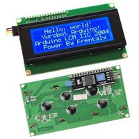 IIC I2C TWI 2004 Serial Blue Backlight LCD Module For Arduino UNO R3 MEGA2560 20 X