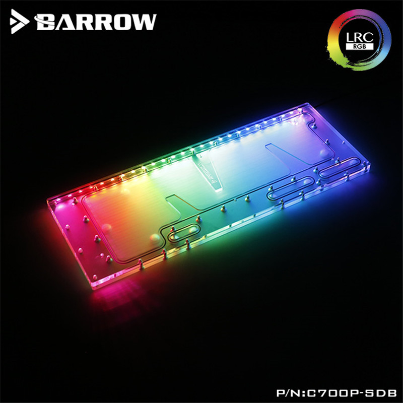 Barrow Waterway Board for Cooler Master C700P Case Water Way Plate LRC2.0(5V 3Pin) Motherboard AURA C700P-SDBBarrow Waterway Board for Cooler Master C700P Case Water Way Plate LRC2.0(5V 3Pin) Motherboard AURA C700P-SDB