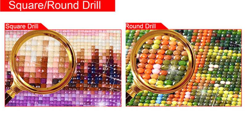 DIY 5D алмазов картина под вышивка крестиком, костюм для девочки, незаконченные Новогоднее украшение, все Алмазная вышивка hcr7