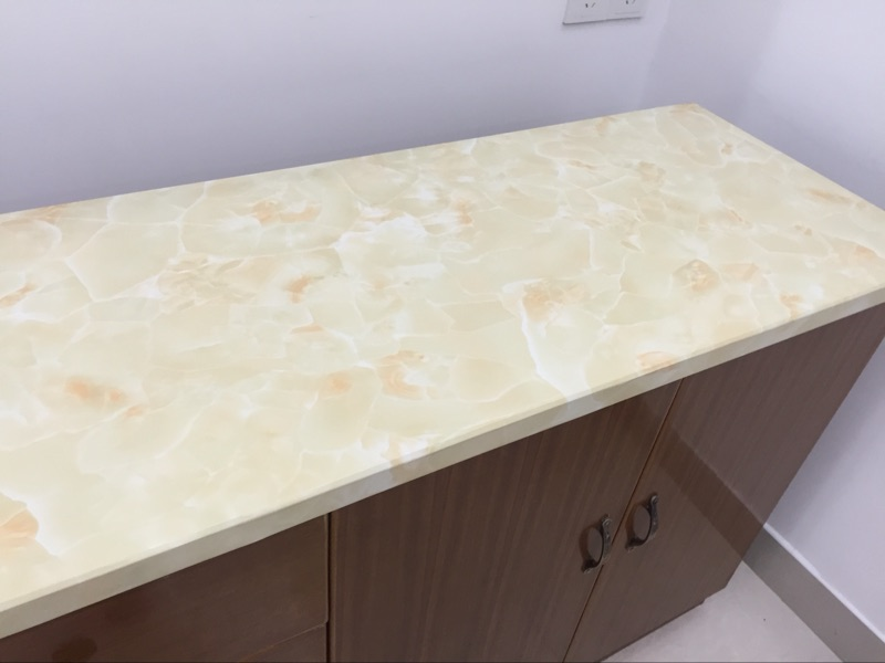 Home Improvement Imported From Abroad Pvc Waterproof Marbling Marbled Bathroom Restaurant Self-adhesive Stickers Wallpaper Boeing Film Wallpaper Wardrobe-37z To Adopt Advanced Technology Painting Supplies & Wall Treatments