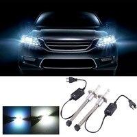 Durable 2Pcs Set 30W LED Aluminum Car Headlight Waterproof White Light Headlamp H4 Interface Car Headlight