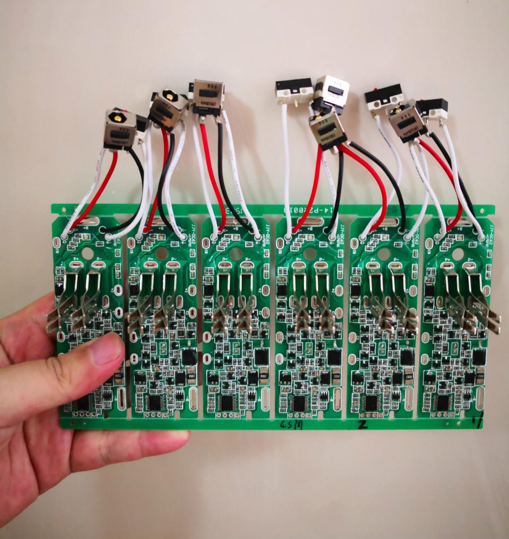 V6 PCB Protection Board For Dyson V6  C58 Dc62 21.6V Vacuum Cleaner Li-ion Battery