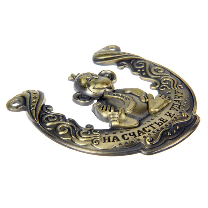 New arrival 2016. monkey horseshoes alloy metal crafts and coins souvenirs for home wall decoration 1pc/lot