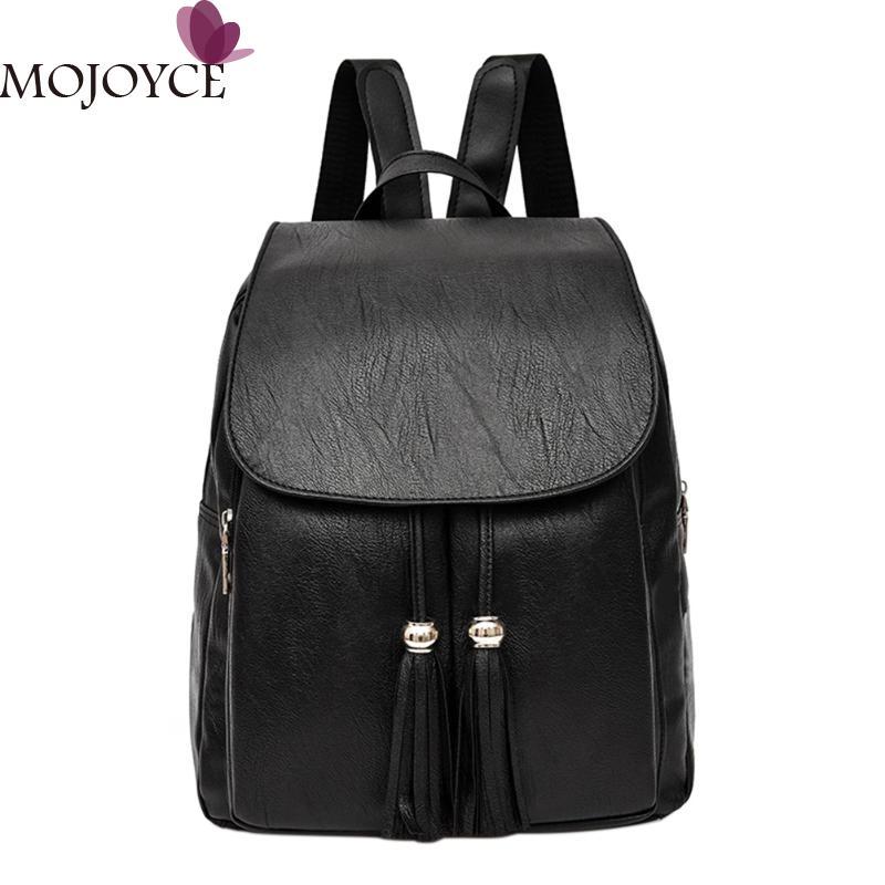 2018 Hot Sale Style Bookbags Womens Backpack Travel Bags Student School Bag Girl Backpacks Casual Travel Rucksack Tassel Bags