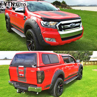 custom car stickers decals 6PC car body hood rear trunk tailgate shark stripe graphic Vinyl modified stickers for Ford Ranger