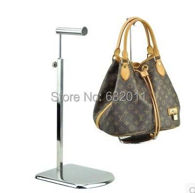 Metal Handbag <font><b>Display</b></font> Stand Stainless Steel Handbag <font><b>Display</b></font> Rack Stand hat hair Holder stand rack standing