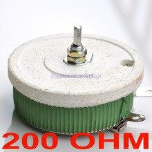 200 W 200 OHM de alta potência Wirewound potenciômetro, Rheostat, Resistor variável, 200 Watts