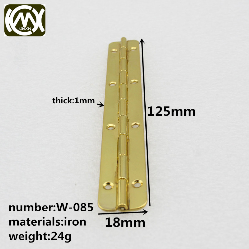 W 085 10pc 125mm 18mm Wooden box hardware accessories Box hinge delivery speed is fast Quality