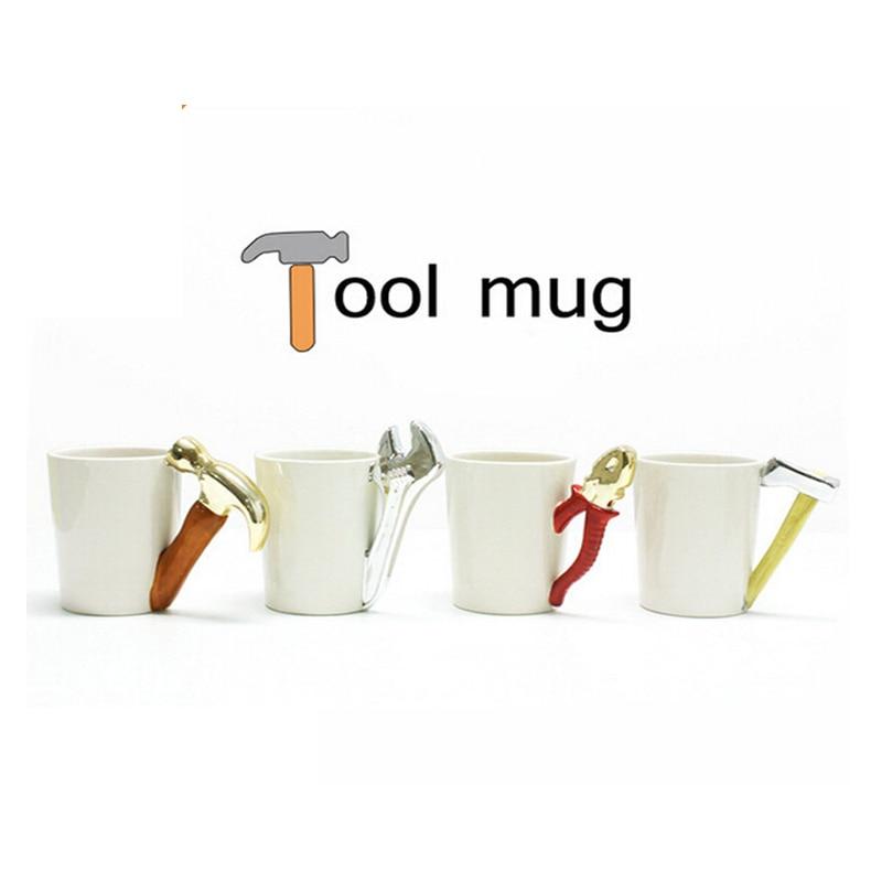 Wrench Ceramic Tool Axe Design Shape Amazing Hammer Pliers Mug L4j3ARq5