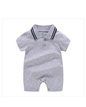 Jumpsuit Tanpa Lengan Musim Panas Baby Boy 3
