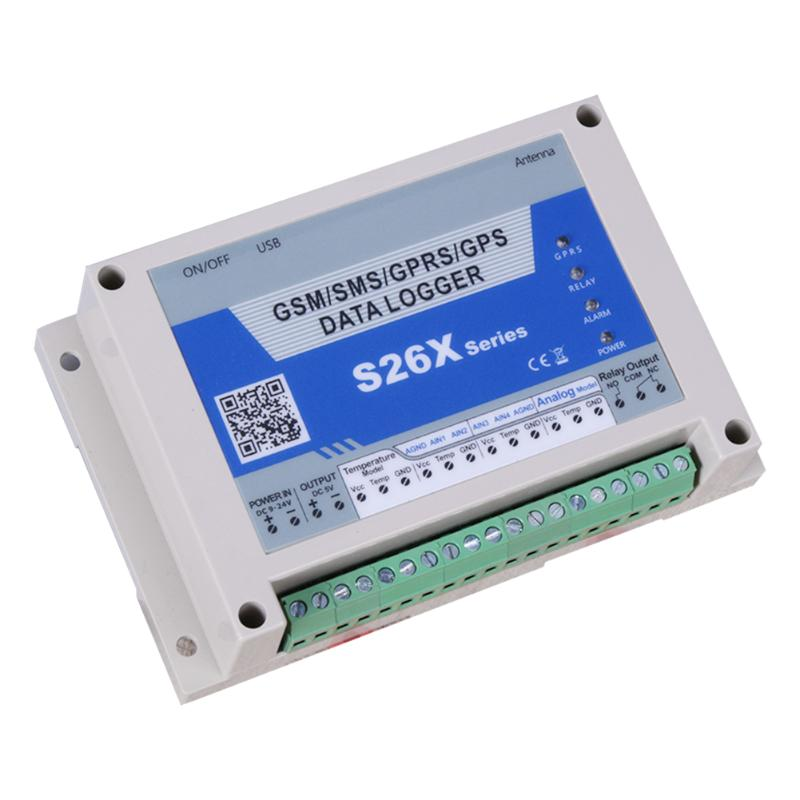 S260 GSM Temperature Collector Farm Temperature Alarm System Controller Remote Monitoring Support SIM Card цены онлайн