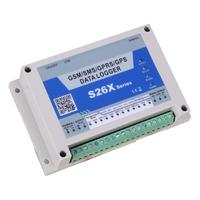 S260 GSM Temperature Collector Farm Temperature Alarm System Controller Remote Monitoring Support SIM Card