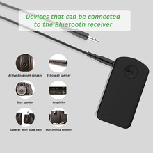 купить Bluetooth V4.2 Audio Receiver for Car stereo Wireless 3.5mm RCA Aux Adapter for HI-FI Music Streaming & Hands-free Phone Calling по цене 775.71 рублей