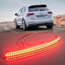 Varthion светодиодный тормозной светильник s Чехол для Volkswagen Tiguan L+, тормозной светильник+ ночные ходовые сигнальные огни+ светильник указателей поворота