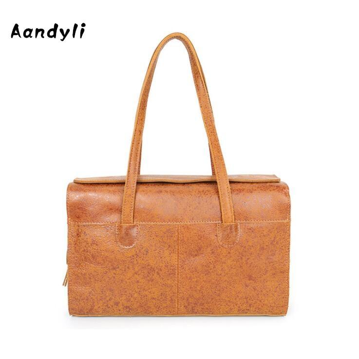 485b6fe1dd6 Lederen Handtassen Mannen en vrouwen enkele schoudertas Designer Messenger  Bags Handgemaakte tassen in Lederen Handtassen Mannen en vrouwen enkele ...