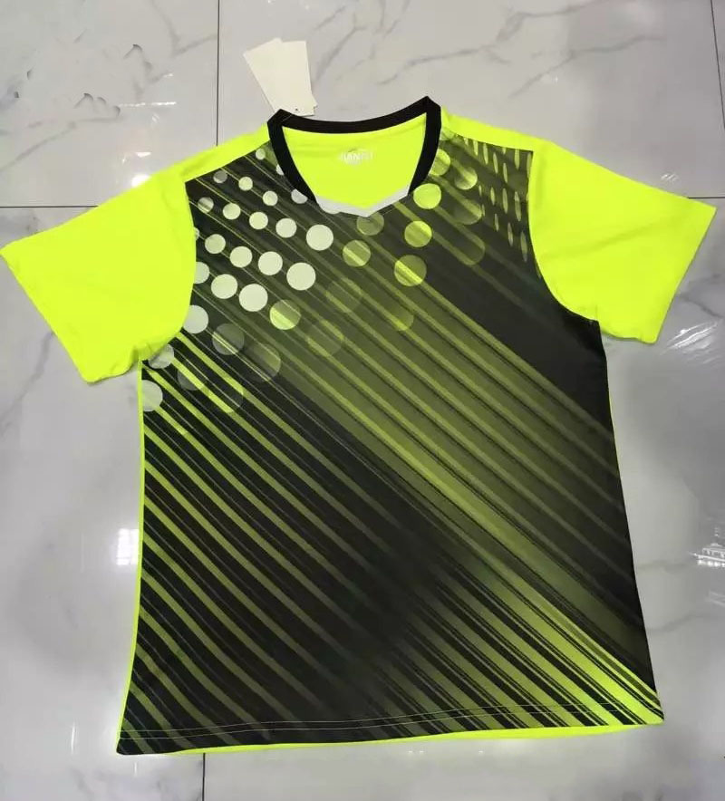 New badminton Shirt,Men/Women Tennis shirt,polyester sportswear Table tennis T-Shirt,conjunto deportivo mujer men tennis shirt