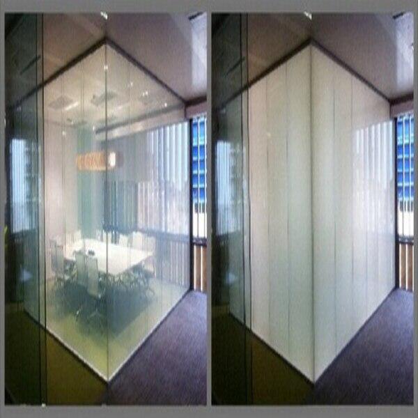 100x100 cm Intelligent Pdlc film pour Fenêtre en verre décoration Commutable smart film Magique fenêtre de la vie privée film avec Le Meilleur fournir
