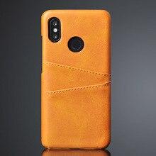 For Xiaomi Mi Play Case Card Holder Id Bank Card Ca