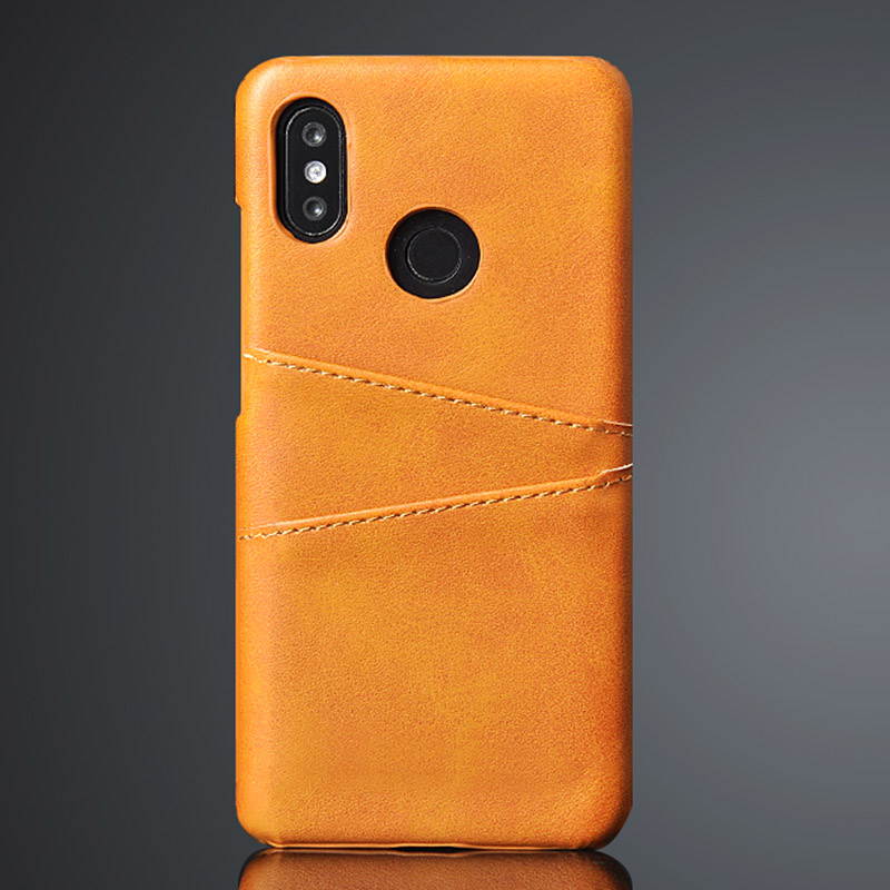 For Xiaomi Mi Play Case Card Holder Id Bank Card Case for Xiaomi Pocophone F1 Mi A2 Lite 8 9 SE 5X 6X A1 Leather Phone Case image