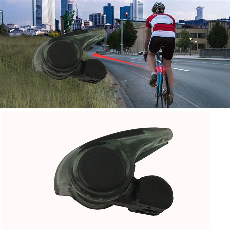 Portable Mini Brake Bike Light Mount Tail Rear Bicycle Light Cycling LED Light Bicycle rear light Free Shipping #2A26