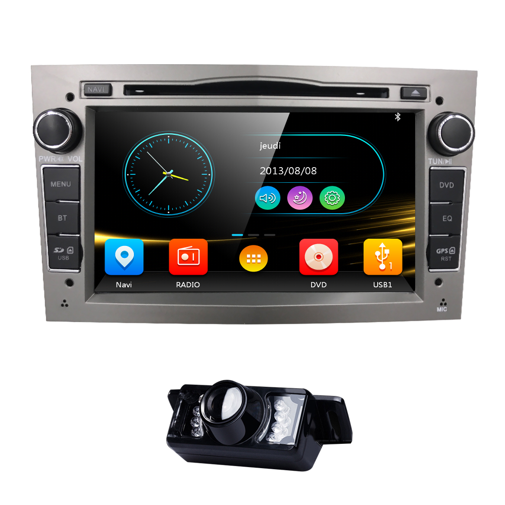 7inch autoradio 2din car dvd player for opel astra h. Black Bedroom Furniture Sets. Home Design Ideas