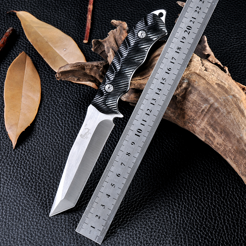 New Fixed Blade font b Knife b font Outdoor Survival Tactical font b Hunting b font