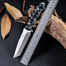 New Fixed Blade Knife Outdoor Survival Tactical Hunting Knife Cold Steel Facas Taticas Knife D2 Navajas Zakmes Cuchillos
