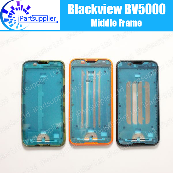 Blackview BV5000 Housing Middle Frame Bezel Replacement 100% Original New Middle Plate Cover Repair Parts for Blackview BV5000