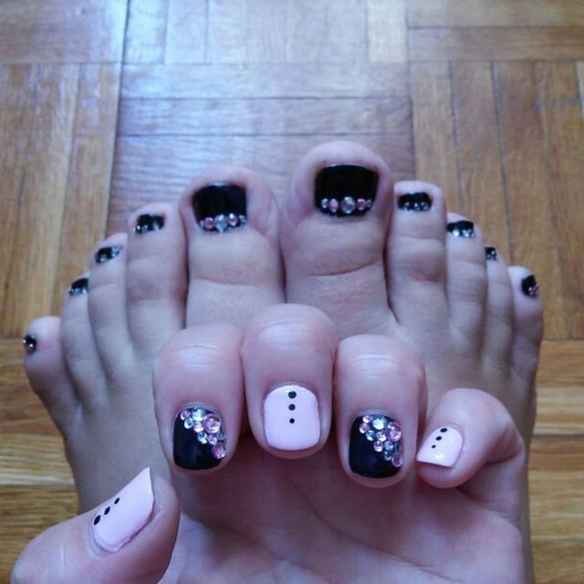 Online Shop Nail Art Decorations 3D Accessories White Pink Grey ...