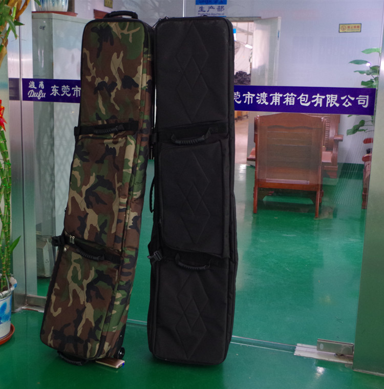 160 cm Hiver Ski Boutique Nouveau Snowboard Sac Camouflage Sangle avec Roues A4792