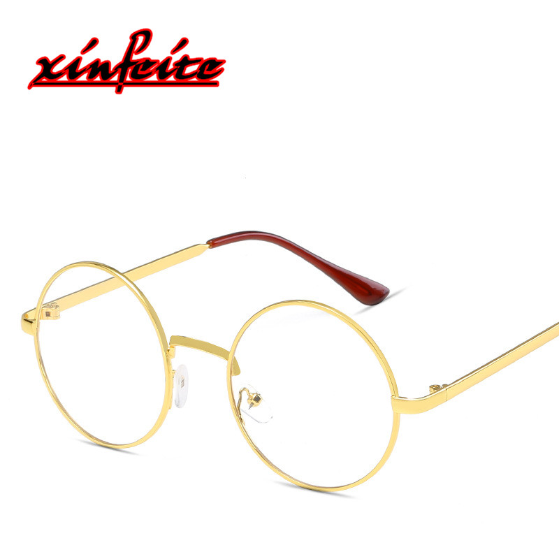 6e583c1377c Detail Feedback Questions about 2018 Cheap Eye Glasses Frames For Women  Round Fake Glasses Men Clear Lens Retro Eyewear Female Male Spectacles Rose  Gold ...