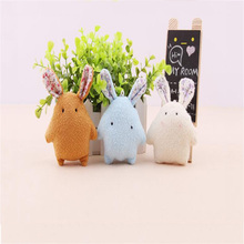 10CM Cute Pearl Rabbit Plush Toy Bunny Wedding Gift Rouge Rabbit Plush Toy Bag Mobile Phone Pendant Bouquet Decoration Doll 2pcs set wedding gift joint rabbit bouquet doll toy diy pendant plush stuffed toy soft figure candy box doll toy 4colors