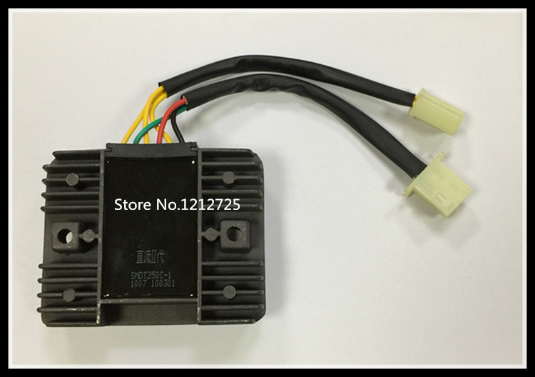 CFMOTO motorcycle CF250T Regulator rectifier Silicon rectifier Regulator 172MM engine SMDT250C 1