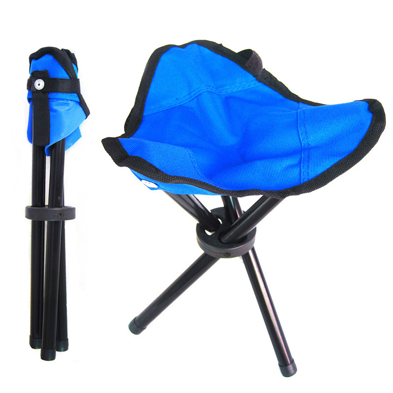 Hot Sale Outdoor Tripod Triangular Folding Stool Chair Foldable Fishing Chairs Portable Fishing Mate Fold Chair hot sale cayler