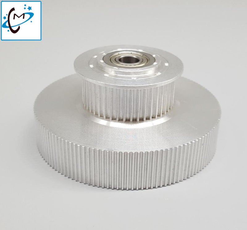 High quality !!! Eco solvent plotter printer Mimaki tower pulley for JV33/TS3/JV5/TS5/JV34/TS34 motor belt gear spare part free shipping eco solvent printer encoder mimaki jv33 jv5 ts3 ts5 printer raster sensor encoder sensor