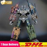 Jinbao негабаритных Bruticus Warbotron натиск драка мошенничество взлетать MMC PREDAKING рисунок Трансформация Робот коллекция игрушек