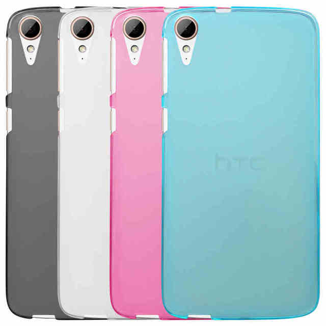 online store e6b4f dcd73 US $1.99 |For HTC Desire 828 Case Cover High Quality TPU Soft Phone Case  For HTC 828 Cover 4 Colors For HTC Desire828 Back Cover Case-in  Half-wrapped ...