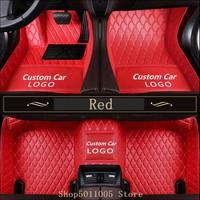 For Car Floor Mats For Kia Rio K3 K5 K7 KX3 KX7 KX5 Sportage Soul Cerato Forte Opirus Optima Sorento Car Waterproof Mat
