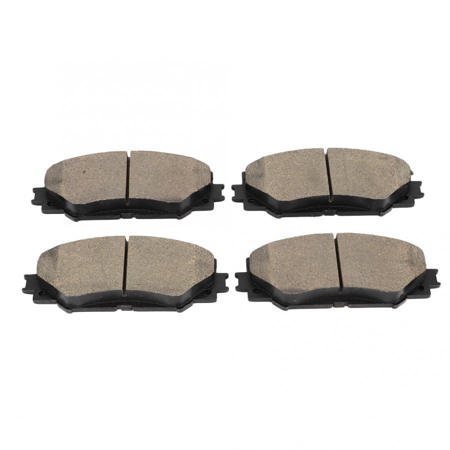 4 pièces En Céramique Voiture Plaquette de Frein À Disque Arrière Ensemble Convient pour Toyota Corolla/Levin frein plaquette de Voiture Accessoires