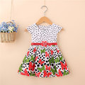 2017 лето девушка новорожденный одежда марка хлопок бабочка платья для младенцев детская одежда спорт принцесса бальные платья dress