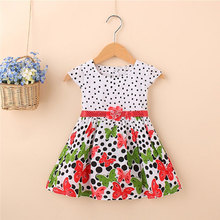 2017 summer newborn baby girl clothes brand cotton butterfly dresses for infant baby clothes sports princess party dresses dress