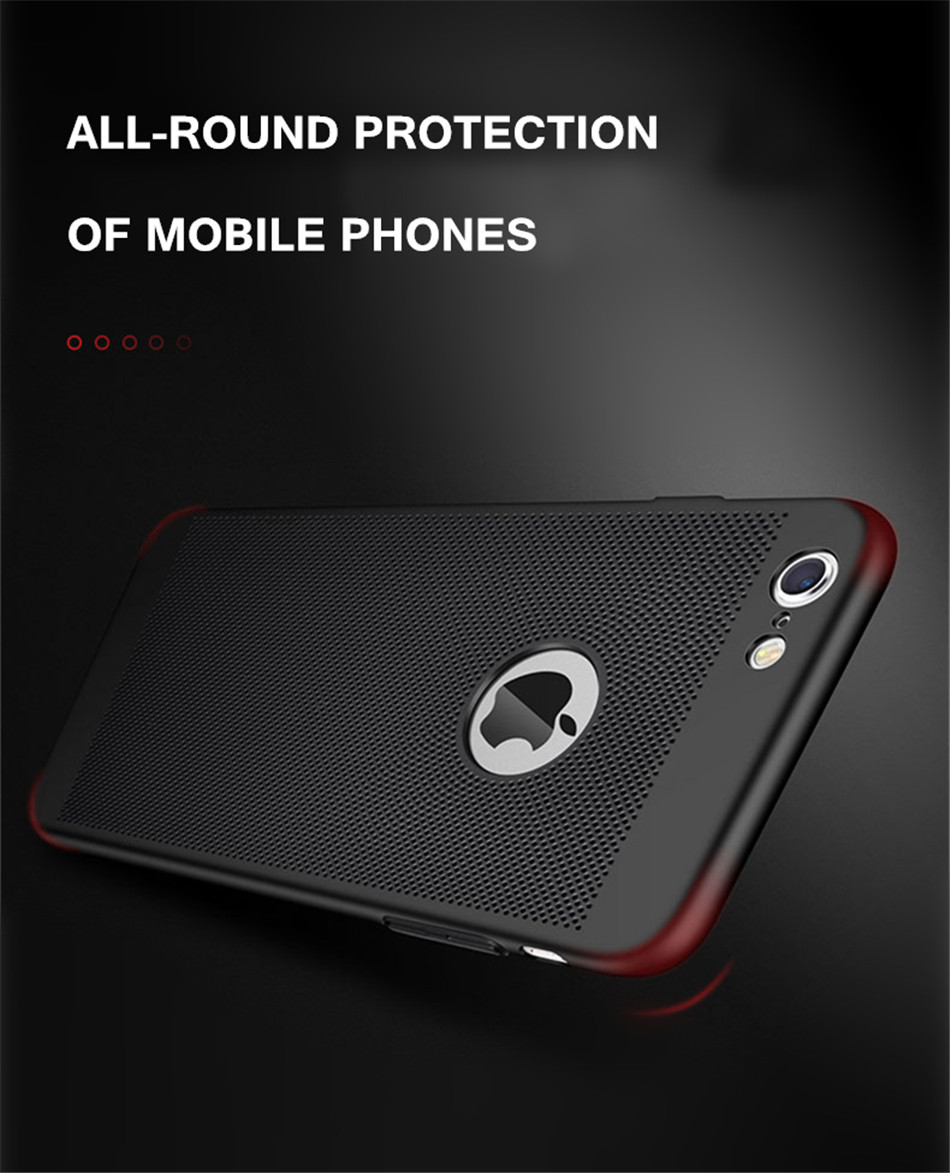 Heat dissipation iPhone Case - Hard Back PC Protect Shell 9