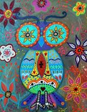 5D DIY Diamond Painting Animal Owl Picture of Rhinestones Mosaic  Embroidery Sale Cross Stitch